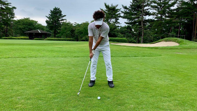 GEN-TENゴルフコースレッスン正しいテークバックの写真