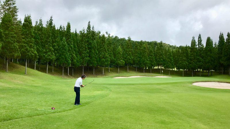 GEN-TENゴルフコースレッスンJOYXGC50yアプローチの写真