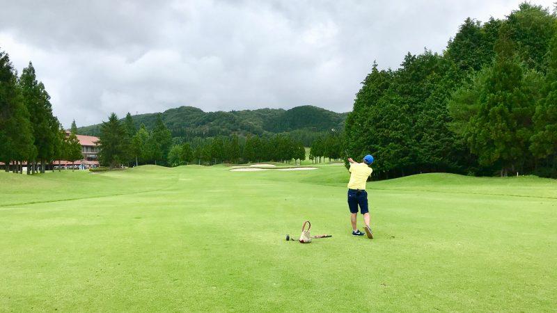 GEN-TENゴルフコースレッスンJOYXGC120yショットの写真