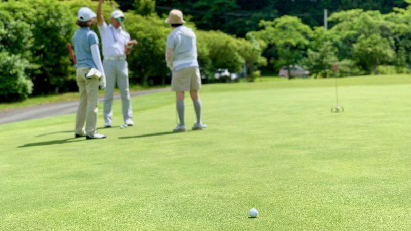 GEN-TENゴルフコースレッスンギャツビイGCパッティンググリーンの写真③