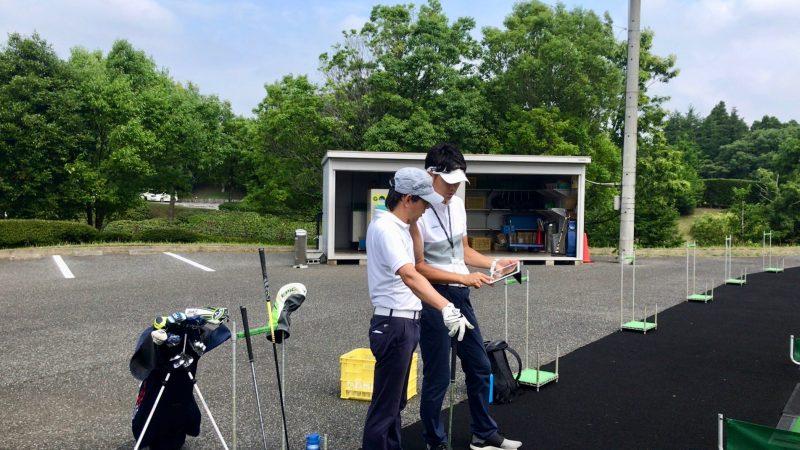 GEN-TENゴルフコースレッスンヌーヴェルGCビデオ解析の写真