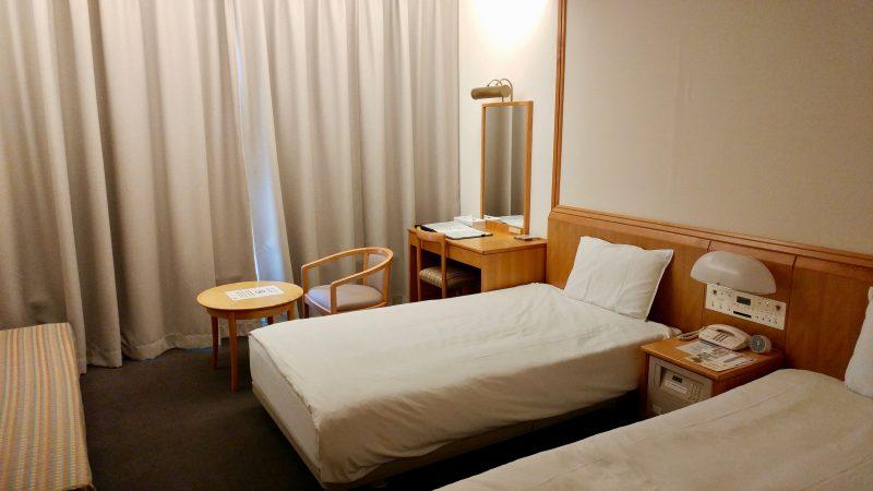 GEN-TENゴルフコースレッスン青森スプリングGCホテル客室の写真