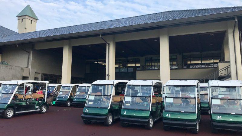 GEN-TENゴルフコースレッスン六甲CCマスター室前の写真