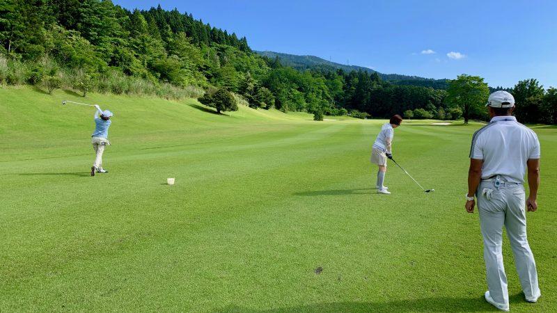 GEN-TENゴルフコースレッスンギャツビイGCフェアウェイからのショットの写真