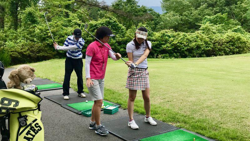 GEN-TENゴルフコースレッスンスリーレイクスCCロングゲームレッスンの写真
