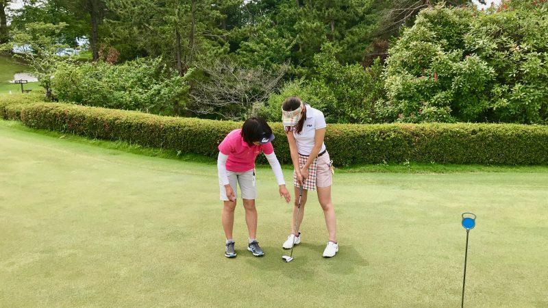 GEN-TENゴルフコースレッスンスリーレイクスCCパッティングレッスンの写真