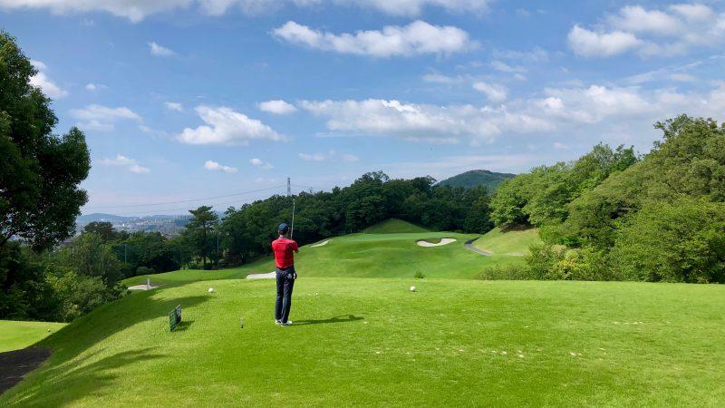 GEN-TENゴルフコースレッスン森林公園ティーイングエリアからの写真