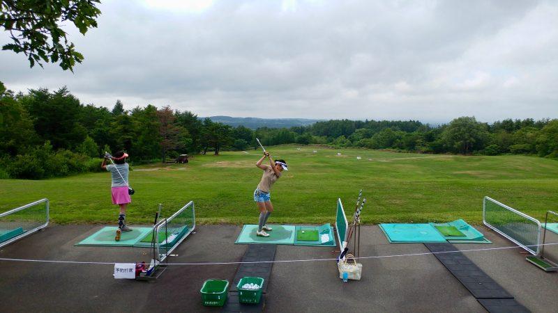 GEN-TENゴルフコースレッスン青森スプリングGCドライビングレンジの写真