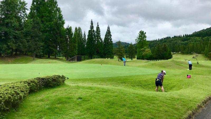 GEN-TENゴルフコースレッスンJOYXGCアプローチ練習の写真