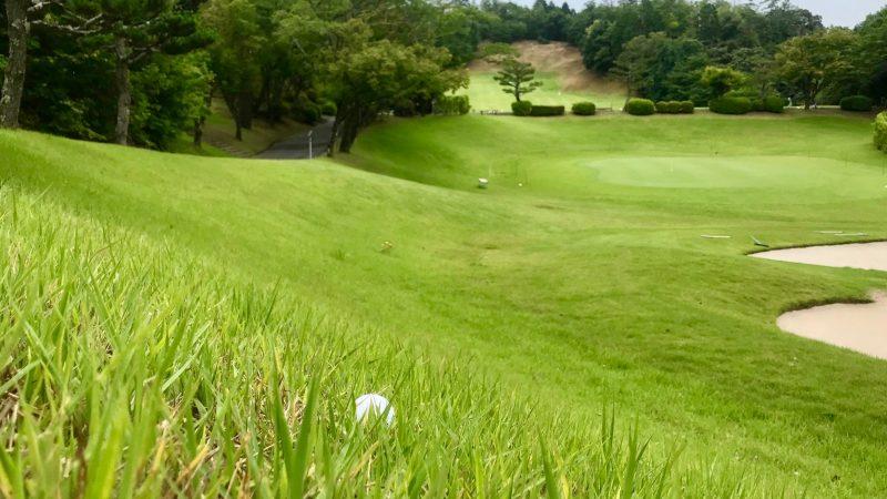 GEN-TENゴルフコースレッスンラフとボールの写真