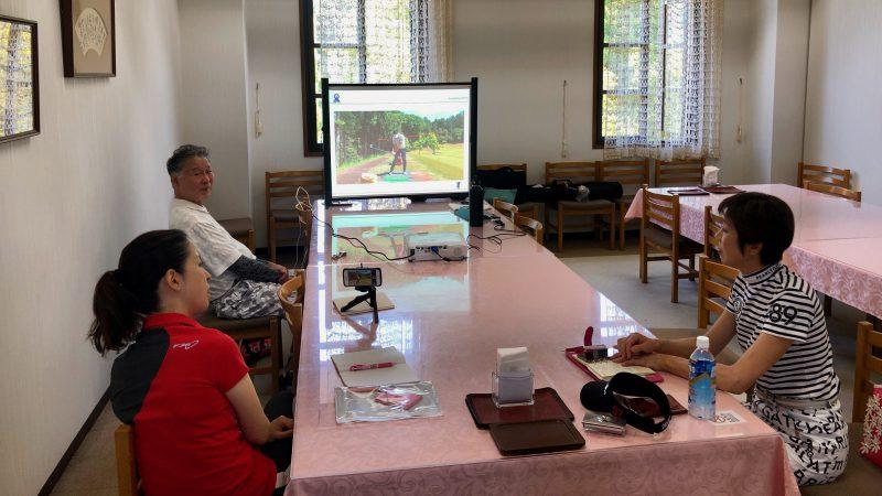GEN-TENゴルフコースレッスンアカデミア講義室の写真