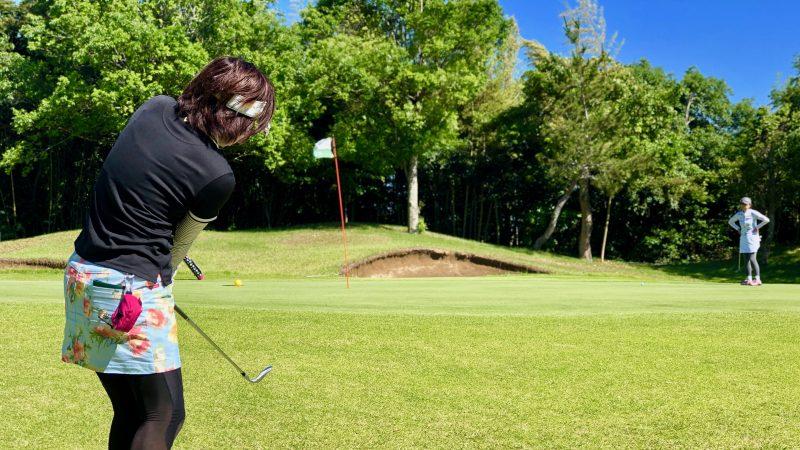 GEN-TENゴルフコースレッスンディスカバリーキャンプ真名CC2日目GPコースラウンドアプローチの写真②