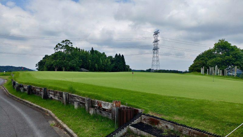 GEN-TENゴルフコースレッスンきみさらずGLの写真練習グリーン