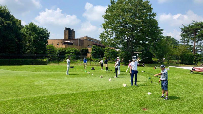 GEN-TENゴルフコースレッスンゲンテンストレッチの写真