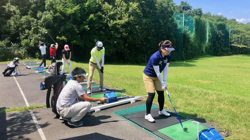 GEN-TENゴルフコースレッスンゲンテンロングゲームレッスンの写真