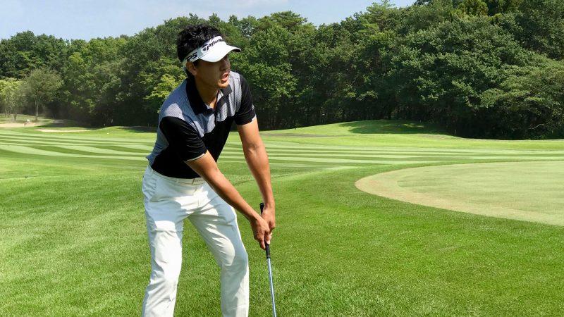 GEN-TENゴルフコースレッスンゲンテン定点練習説明の写真