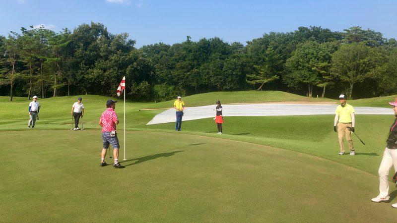 GEN-TENゴルフコースレッスンゲンテンパッティングの写真