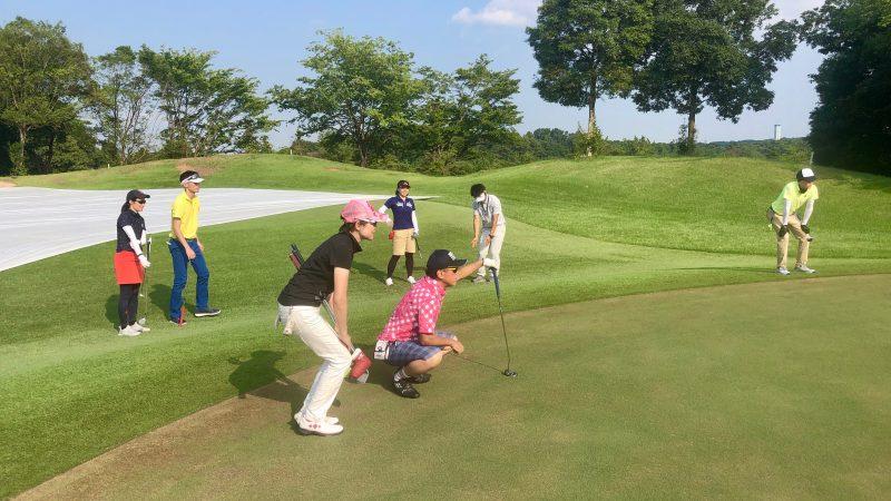 GEN-TENゴルフコースレッスンゲンテンパッティングの写真②