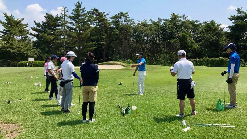GEN-TENゴルフコースレッスンゲンテン説明の写真