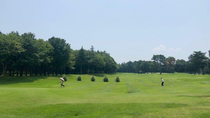 GEN-TENゴルフコースレッスンワンウェイGCフェアウェイからのショットの写真