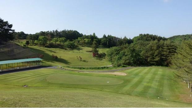 GEN-TENゴルフコースレッスン紀伊高原GCアプローチエリアの写真