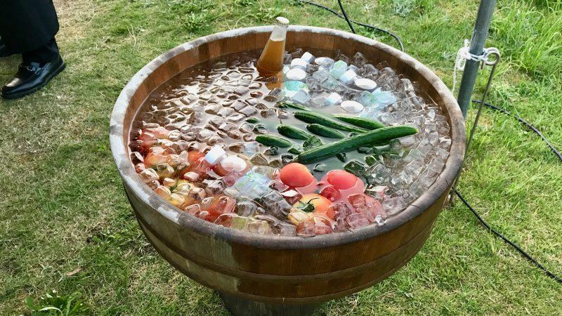 GEN-TENゴルフコースレッスン紀伊高原GC野菜の写真