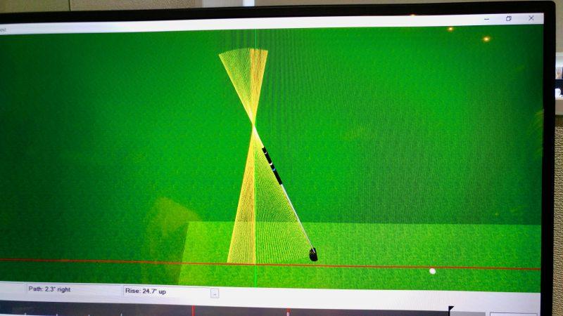 GEN-TENゴルフコースレッスン朝霧CCシミュレーターパットの写真