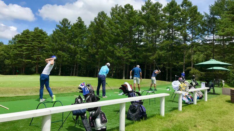 GEN-TENゴルフコースレッスン強化合宿サニーCCロングゲームレッスンの写真