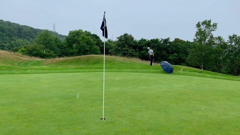 GEN-TENゴルフコースレッスンマオイGRグリーン周りのアプローチの写真