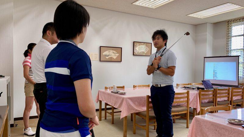 GEN-TENゴルフコースレッスン説明会&体験レッスングリップの握り方の写真
