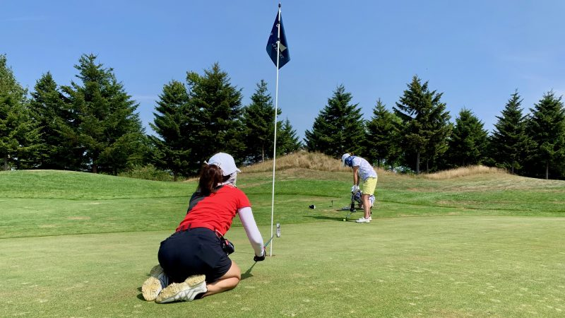 GEN-TENゴルフコースレッスンマオイGRパッティングの写真