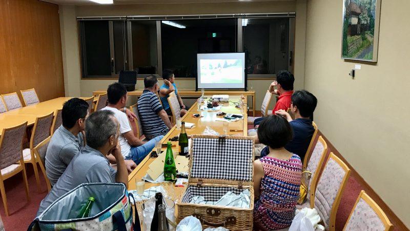 GEN-TENゴルフコースレッスン強化合宿サニーCC初日ナイトミーティングの写真