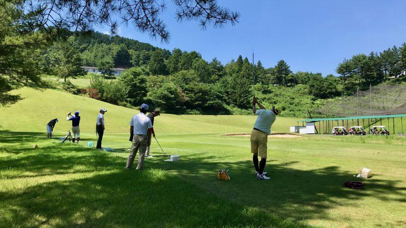 GEN-TENゴルフコースレッスン紀伊高原GCショートゲームレッスンの写真②