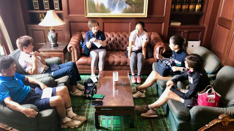 GEN-TENゴルフコースレッスングランディ那須白河GCオリエンテーションの写真