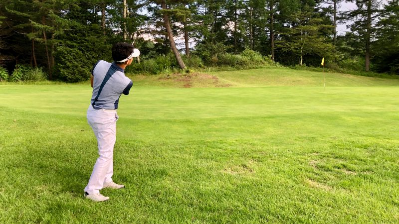 GEN-TENゴルフコースレッスンアプローチの写真