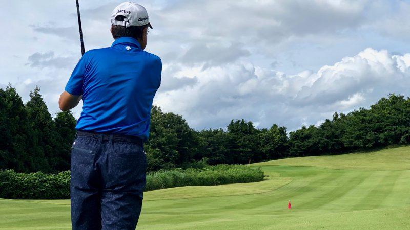 GEN-TENゴルフコースレッスングランディ那須白河GCフェアウェイからのショット写真