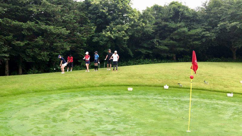 GEN-TENゴルフコースレッスングランディ那須白河GCアプローチゲームの写真