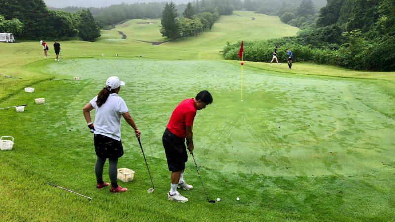 GEN-TENゴルフコースレッスングランディ那須白河GCアプローチゲームの写真②
