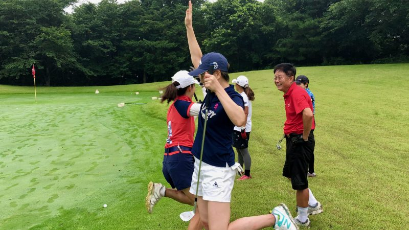 GEN-TENゴルフコースレッスングランディ那須白河GCアプローチゲームの写真③