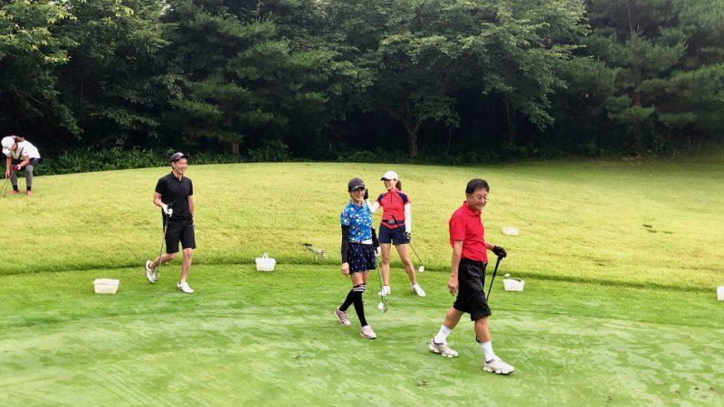 GEN-TENゴルフコースレッスングランディ那須白河GCアプローチゲームの写真④