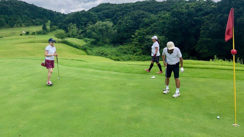GEN-TENゴルフコースレッスングランディ那須白河GCパッティングの写真