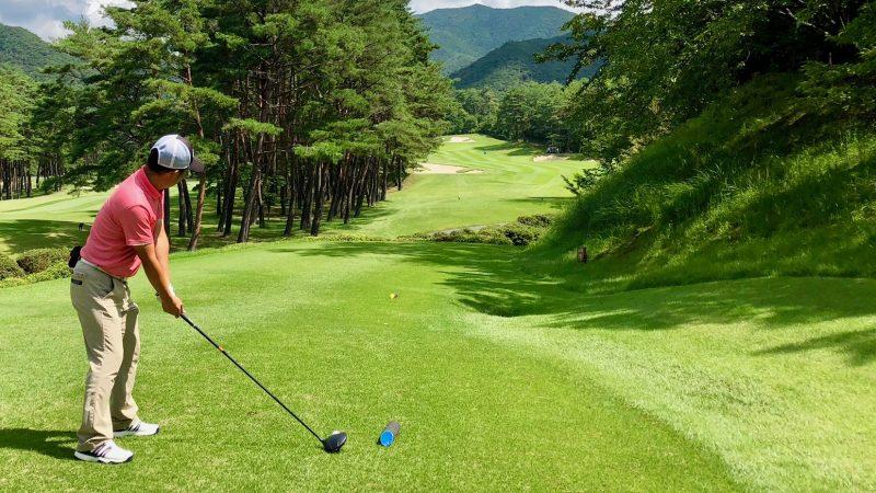 GEN-TENゴルフコースレッスンティインググラウンド右側の写真
