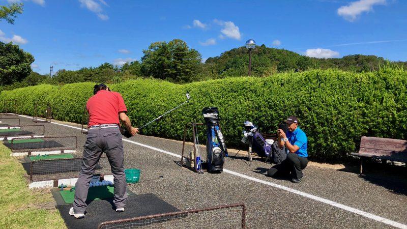 GEN-TENゴルフコースレッスンハーフラウンド千刈CC動画撮影の写真