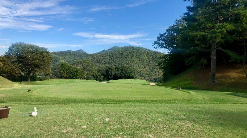 GEN-TENゴルフコースレッスンハーフラウンド千刈CC13番ホールの写真