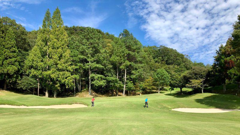 GEN-TENゴルフコースレッスンハーフラウンド千刈CC10番ホールの写真