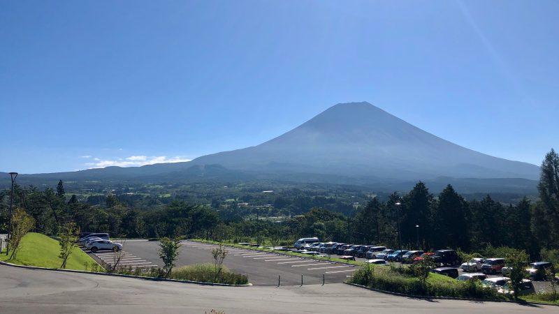 GEN-TENゴルフコースレッスンDC朝霧CC富士山の写真