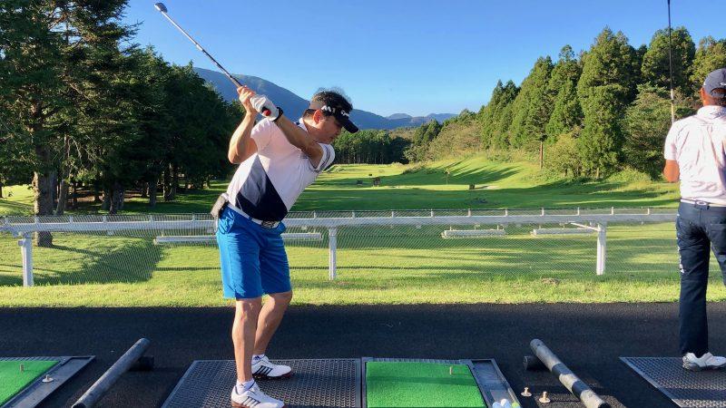 GEN-TENゴルフコースレッスンDC朝霧CC復習練習ロングゲームの写真