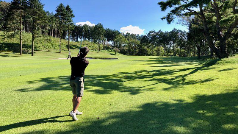GEN-TENゴルフコースレッスンDC朝霧CCセカンドショットの写真
