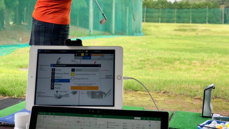 GEN-TENゴルフコースレッスンDC静ヒルズCCスイングデータの写真