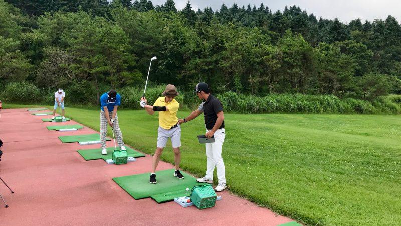 GEN-TENゴルフコースレッスン富士クラシックドライビングレンジの写真